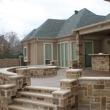 Concrete Decks And Patios A Wonderful Place To Spend A Night Outdoors This Custom Patio