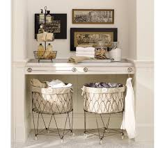 laundry room wire laundry basket design round wire laundry