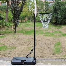 zimtown portable basketball hoop net goal rim court stand
