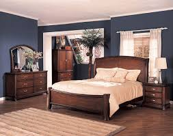 bedroom decor with dark brown furniture interior design