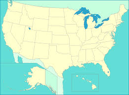 united states map map of us states capitals major cities and