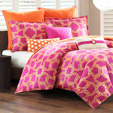 Orange Bed Sets Xl Cotton Comforter Set Duvet Style Free Shipping