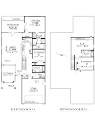 Large 1 Story House Plans House Plan 2344 Arcadia Floor Plan Traditional 1 1 2 Story House