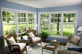 interior amusing sunroom interior decoration using light blue