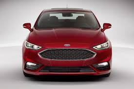 Ford Fusion Interior Pictures 2017 Ford Fusion V6 Sports Official Pictures And Details