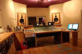 Studio Console Desk by Control Room Workspace Integration Of Console And Daw Gearslutz