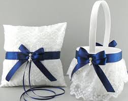 midnight blue wedding band navy blue wedding etsy