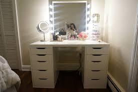 Sei Mirrored Vanity Furniture Makeup Vanity Table Without Mirror Walmart Makeup