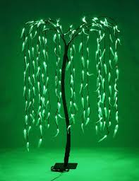 Willow Tree Home Decor Amazon Com Lightshare Lighted Willow Tree 5 5 Feet 200 Led