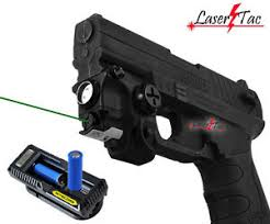 Lasertac Green Laser Light Combo For Springfield Xd Xd S Xdm