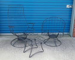 Wire Patio Chairs Homecrest Etsy