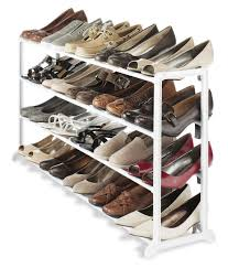 Shoe Home Decor Inspiring Closet Shoe Rack To Help You Manage Your Collection