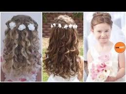 flower girl hair flower hairstyles and easy girl s updo