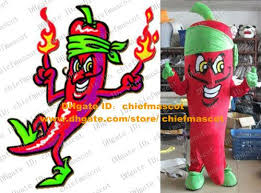 Jalapeno Halloween Costume Cool Red Jalapeno Pepper Mascot Costume Chili Chilli Plants