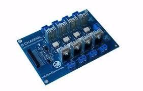 8ch ac led light dimmer module controller board arduino raspberry