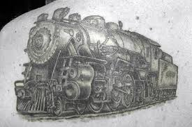 14 amazing train tattoo designs