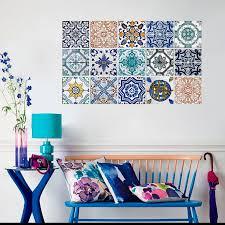 Tile Decals For Kitchen Backsplash Kitchen Backsplash Hydraulic Tile Stickers Kitchen