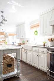 white kitchen cabinets refinishing how to paint oak cabinets and hide the grain step by step