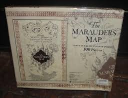 Harry Potter Map Marauder U0027s Map Puzzle Wizarding World Harry Potter 18 Ad