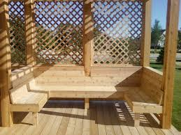 Home Depot Benches Saga Builders Porches And Decks Deck Pinterest Decking