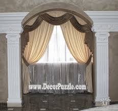 Arched Window Curtain The Best Curtain Styles And Designs Ideas 2017