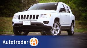 suv jeep 2013 2013 jeep compass suv new car review autotrader youtube