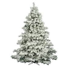 unlit 6 5 x 62 alaskan pine artificial tree flocked
