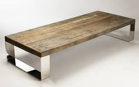 White Wood Coffee Table Reclaimed Wood Coffee Tables Designs Dans Design Magz
