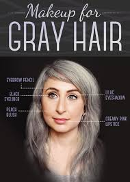 looking with grey hair here is every little detail on how to dye your hair gray