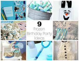 9 Frozen Birthday Party Ideas