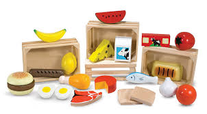 Kitchen Set Toys For Boys Amazon Com Melissa U0026 Doug Food Groups 21 Hand Painted Wooden
