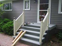 hand railings for steps deck stairs design ideas exterior metal