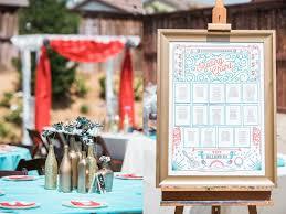 diy comic book backyard wedding
