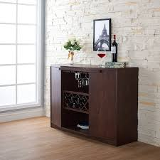 amazon com iohomes annadel wine cabinet buffet vintage walnut