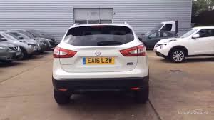 nissan suv 2016 white nissan qashqai n connecta dci white 2016 youtube