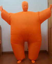 inflatable chub fat suit fancy dress costume blow up halloween