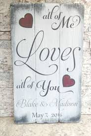 rustic wedding sayings all because two fell in sign marriage sign custom