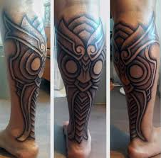 tattoos for men calf oasis amor fashion