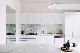 cuisine en marbre cuisine marbre blanc