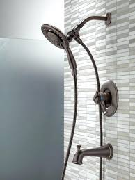Tub Faucet With Handheld Shower Hand Held Shower Head Attaches Tub Faucet Shower Head And Spout