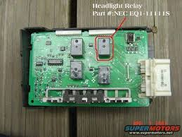 ford crown victoria lighting control module 2003 lcm parking light relay body and interior crownvic net