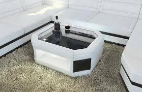 Wohnzimmer Tisch Xxl Couchtisch Prato Led Beleuchtung Rgb Design Wohnzimmertisch