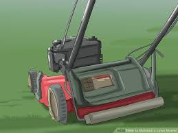 how to maintain a lawn mower 7 steps with pictures wikihow