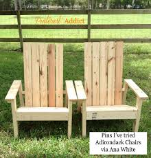 Wooden Skull Chair Furniture 2x4 Cost Home Depot Ana White Adirondack Chair