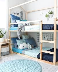 chambre avec lit superposé aménager une chambre pour les enfants shake my