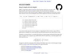 hugo themes complete list
