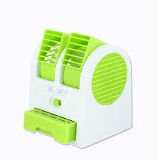 Portable Desk Air Conditioner Office Portable Mini Fan Cooling Desktop Dual Bladeless Usb Air