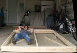 Diy King Size Platform Bed Frame by Build A King Sized Platform Bed Diywithrick