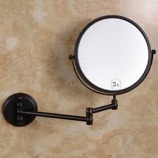 brass bathroom mirrors black antique brass mirror bathroom wall makeup mirror 8inch