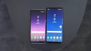 samsung galaxy s8 vs galaxy s8 plus im vergleich unterschiede